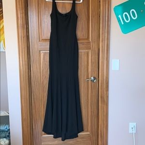 Black fitted formal dress!